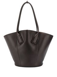 Bottega Veneta Medium Basket Tote Brown