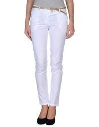Motel Casual Pants White
