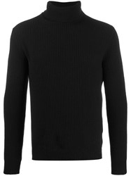 Majestic Filatures Roll Neck Knitted Jumper 60