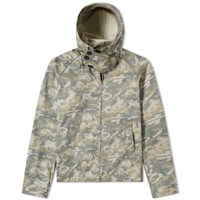 Ten C Camouflage Anorak Green