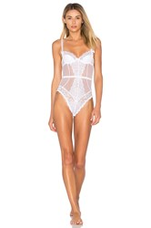 Agent Provocateur Reia Wired Bodysuit White