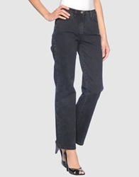 Piazza Sempione Denim Pants Black