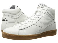 Diadora Game L High Waxed White Athletic Shoes