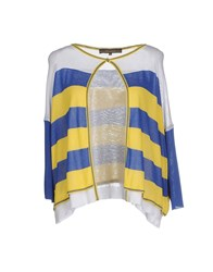 Space Style Concept Knitwear Cardigans Women Blue
