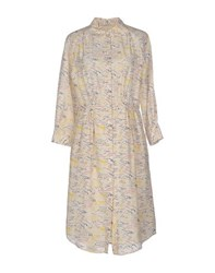 Boy By Band Of Outsiders Dresses Knee Length Dresses Women Ivory