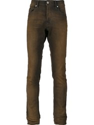 Diesel 'Tepphar Rust' Jeans Brown