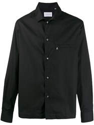 Low Brand Long Sleeved Cotton Shirt Black