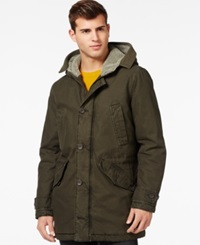 Guess Anorak Jacket With Attached Hood