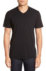 Men's Velvet By Graham And Spencer 'Samsen' V Neck T Shirt Black