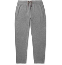 Loro Piana Virgin Wool Sweatpants Gray