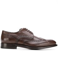 Canali Classic Derby Shoes Brown