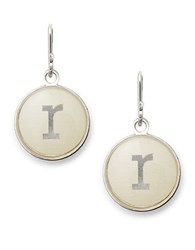 Alex And Ani Initial R Necklace Charm Silver