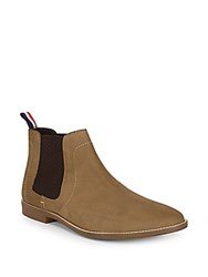 Ben Sherman Gabe Leather Chelsea Boots Taupe
