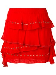 Iro Shelan Skirt Red