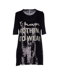 Scee By Twin Set Topwear T Shirts Women Black