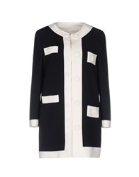Boutique Moschino Overcoats Black