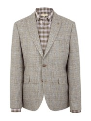 Gibson Temple Bar Check Jacket Grey