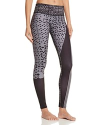 Onzie Graphic Leggings Blocked Angles