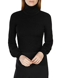 Karen Millen Bell Sleeve Turtleneck Sweater
