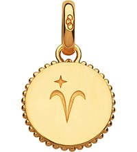 Links Of London Aries 18Ct Yellow Gold Vermeil Zodiac Charm