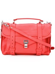Proenza Schouler Medium Ps1 Satchel Red