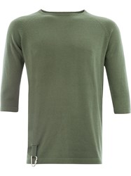 Matthew Miller Herrao Fine Knit Sweater Green