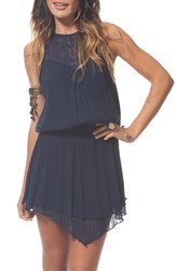 Women's Rip Curl 'Oceana' Cotton Cover Up Navy