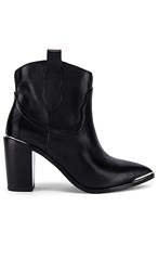 Steve Madden Zora Ankle Boot In Black.