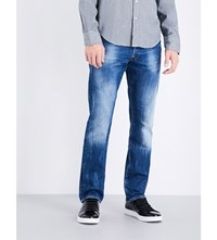 Replay Waitom Regular Fit Tapered Jeans Blue