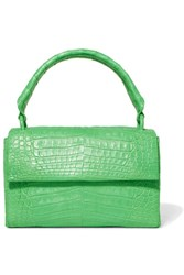Nancy Gonzalez Crocodile Tote Green Gbp