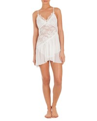 Jonquil Daydream Lace Inset Chemise Ivory