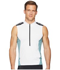Pearl Izumi Select Quest Sleeveless Jersey White Arctic Clothing