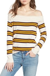 Treasure And Bond Off The Shoulder Sweater