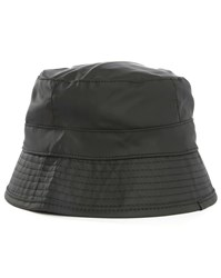 Rains Black Bucket Hat
