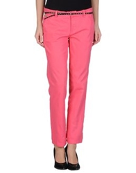 Guess Casual Pants Fuchsia