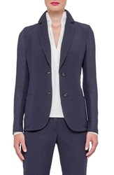 Women's Akris Seersucker Blazer