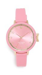 Kate Spade New York Silicone Watch 34Mm Pink