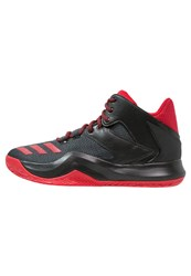 Adidas Performance D Rose 773 Basketball Shoes Core Black Scarlet Dark Grey