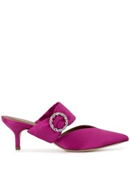 Malone Souliers Maite Crystal Mules 60