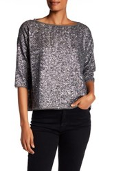 Zadig And Voltaire Tatia Pai Deluxe Blouse Gray