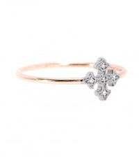 Stone Passion 18Kt Rose Gold Ring With Diamonds