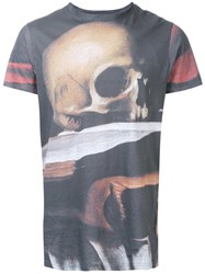 Matthew Miller 'Marshall Skull' T Shirt Grey