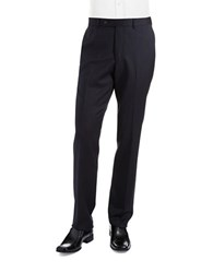 Ted Baker Flat Front Dress Pants Navy