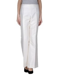 Clips Casual Pants White