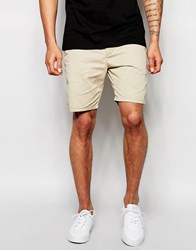 Scotch And Soda Shorts In Sand Stone