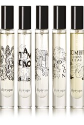 Diptyque Holiday Set Of Five Eau De Parfums Colorless