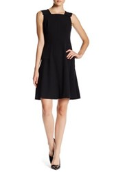 Anne Klein Seam Detail Dress Black