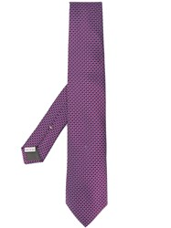 Canali Patterned Tie 60