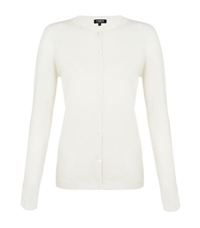 Harrods Of London Cashmere Round Neck Cardigan