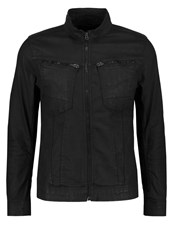 G Star Gstar Arc Zip Deconstructed 3D Slim Jkt Denim Jacket Dark Aged Black Denim